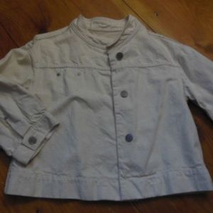 """AG JEANS Large """"The Brylie """"Natural Jean Jacket"""